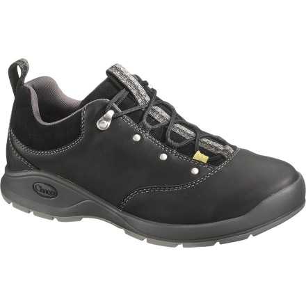 Camp and Hike Go for a short hike in the morning and take your hyperactive dog out for walk to the park in the evening with the Chaco Men's Tedinho Low Hiking Shoes. These full-grain leather shoes work great around town and as your hiking boots for short excursions into the greater outdoors. - $121.46
