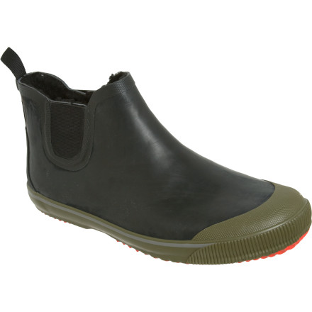 You could slip your wet shoes off once you get to work so they can dry, but no one wants to see or smell your soggy feet. When the rain is coming down, get your feet into the Tretorn Strala Vinter Klar Boots. Your feet will thank you and so will your coworkers. - $38.97