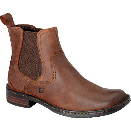 Skateboard Leave no stone unturned while you're wearing the Men's Hemlock Boot. Side stretch panels make it easy to slide your foot in and out of this rugged boot, and the pigskin uppers have a clean, natural look fit for a night on the town or an afternoon at a concert. Men wear boots (leave the skate shoes for the boys). - $112.46