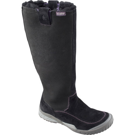Finding your way home through the winter snow and slush is easy with a little help from the Cushe Women's Wildride WP Boot. Designed with a tall, mid-calf shaft to shield you from the cold and snow, this urban- and mountain-adventure boot has the tools to keep your toes warm and dry all through the winter months. - $35.99