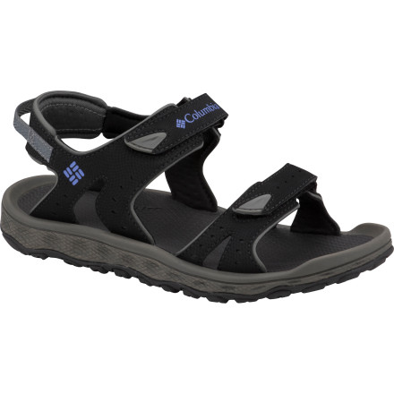 Entertainment If the name isn't obvious enough, the aggressive tread and supportive straps should make it clear that the Columbia Women's Techsun III Sandal is designed for fun in and around water under the sun. - $32.47