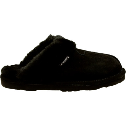 Entertainment Slip on the Bearpaw Womens Loki II Slipper and your toes wont stop thanking you. This furry slipper features a suede upper and a durable EVA outsole so you can run to the mail box or to the grocery store (if youre feeling adventurous). - $31.96