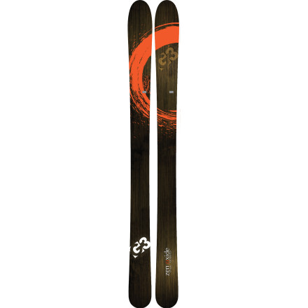 Ski Do you have fond memories of standing in lift-lines for the better part of the day' Then you're kidding yourself. When the resorts are jam-packed with tourists go out and get some quiet time and fresh turns with the G3 Zenoxide Ski. Part of G3s Journey series, the Zenoxide makes the uphill a cinch thanks to its lightweight wood core. - $373.97