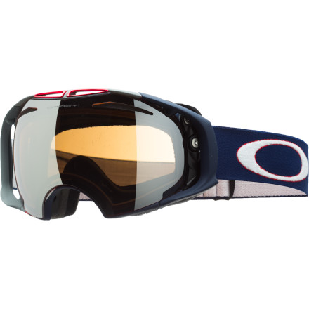 Ski If you could see what Terje sees on the mountain, you'd probably poop yourself. But if you could see LIKE he sees, you could probably ride a little better. At least, that's the thinking behind the Oakley Terje Haakonsen Signature Airbrake Goggle, which uses Switchlock Technology to enable quick swapping between the two included lenses. As the light changes throughout the day, you can change your lens to keep your vision just right. - $230.00