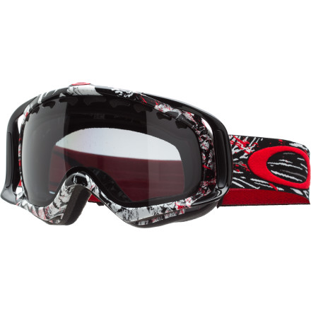 Ski For years, you've seen Seth's superhuman back flips, front flips, and rodeos in the middle of insane AK lines. The Seth Morrison Signature Crowbar Polarized Goggle returns with the same optics Seth trusts and, for 2012-13, the Mountain Reaper design seems to accentuate Seth's death-taunting style apparent in every segment, line, and cliff drop. Its flexible, fleece-lined frame contours to your face, and its wide peripheral vision and glare-eliminating polarization ensures enhanced vision regardless of the size of your ... uh ... cliff drops. - $200.00