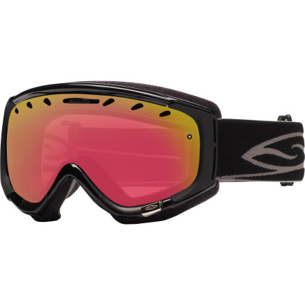 Ski The Smith Phenom Turbo Fan Goggle combines the distortion-free Carbonic-X lens with Turbo Fan anti-fogging technology, a photochromic lens that automatically adjusts its level of tint to outside lighting conditions, Smith's quick-adjusting strap system, and the Phenom's no-nonsense good looks for those of us with medium-sized faces. - $174.27