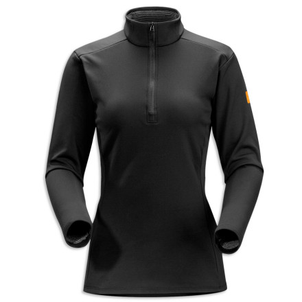 Fitness Layering for aerobic activity on cold alpine days can be tough: the stop-and-go sweating that accompanies a ski tour, ice climb, or snowshoe expedition means that if you don't have just the right base layer, you'll either shiver or fry. So Arc'teryx carefully crafted the Women's Phase SV Zip Neck top to balance moisture management, insulation, and ventilation. The top's Phasic SV fabric dries in a snap, draws moisture from the skin, stretches easily, and resists odors. Gusseted underarms let you move your arms without the shirt riding up, and a deep front zip lets you adjust airflow during uphill trekking. The Phase SV plays well with others too, gliding smoothly under your mid-layer or shell. - $52.47