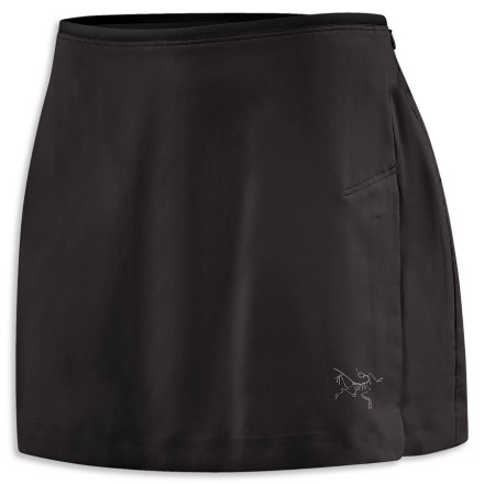 Fitness Running skorts are all the rage these days (and why wouldn't they be ... they're cute), so Arc'teryx set about designing a better-than-average one. The Arc'teryx Mentum Skort weighs a mere four grams, boasts a super-smooth fit, and stretches to let you move with full freedom. And a wicking inner short means you can enjoy skirt style without flashing your bum on the trail. Flatlocked seams will ensure you're chafe-free miles into your race, and a secure key/card pocket on the inner brief gives you a safe spot for your car key. - $37.48