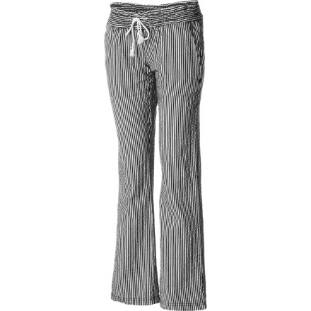 Surf Finish off a great day at the beach with friends with a couple drinks around a fire while wearing the soft and cozy Hurley Bonfire Beach Women's Pant. - $35.51
