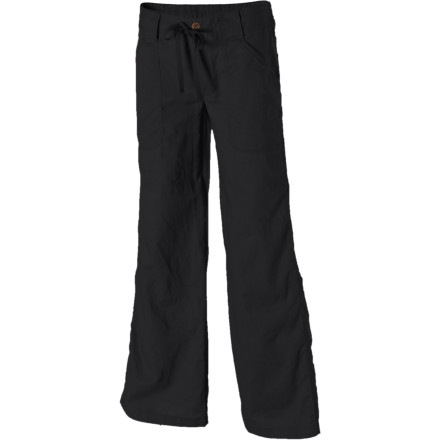 The Patagonia Womens Island Hemp Pant is just right for a relaxing day, or for a day when you really need to remember to relax. Light fabric blends hemp and organic cotton fibers for a linen feel, and a well-draped wide-leg cut gives you plenty of room to move (or to kick your feet up). The pants drawcord waistband adjusts for a smooth fit that flatters as you stroll through a beach town or challenge your co-workers to a mid-day game of horseshoes at the city park. - $79.00