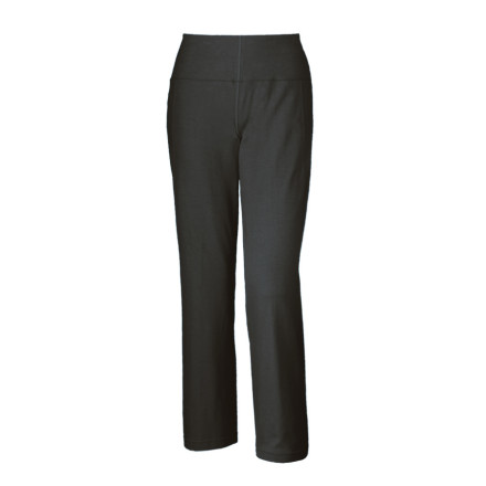 Climbing Wear the Mountain Hardwear Womens High Step Pant for an evening climbing session when the dipping sun leaves you a little chilled. This active pant features a wide waistband to hug your hips comfortably, while the soft, stretchy organic cotton fabric allows mobility. Keep your lip balm and credit card in the zip pocket, and head to the pub for an after-climb treat. - $29.98