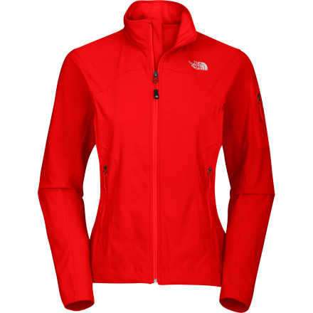 Fitness The North Face created the Women's Apex Elixir Softshell Jacket from its stretchy, breathable Apex Aerobic material, so it offers just the right mix of mobility and versatility. Wear it as an insulating mid-layer or a weather-resistant outer shell in highly mobile pursuits like running or biking for maximum comfort. - $49.48