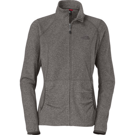 Camp and Hike There's defiantly more than meets the eye with The North Face Women's TKA 100 Masonic Full-Zip Fleece Jacket. Its super-soft fabric feels just divine against your skin, while its unique surface texture gives you a sweet look while you hike, backpack, or run errands around town. - $45.47