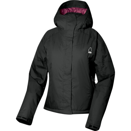 Ski Seal out the cold, wet, blustery elements with the Sierra Designs Women's Lava Jacket while you ski, snowshoe, or sled. Its waterproof breathable TropoZone membrane, fully-taped seams, and waterproof zippers shield you from lightly falling flakes while you navigate down a mogul run or snowshoe with the family. - $77.69