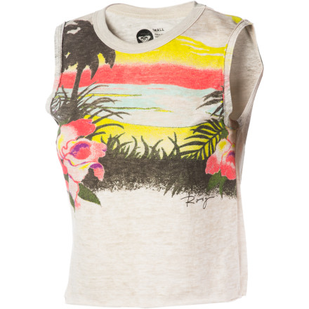 Surf Since you're going to be under the spotlight while your band performs, wear the Roxy Women's Hula Hula Tank Top to keep you comfortable, cool, and looking sweet. - $17.15