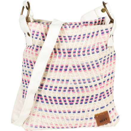 Surf With the casual cool of cotton and the bright splash of a colorful pattern, the Roxy Women's Awake Purse offers a cheery way to cart around your needs and wants. Hit the beach, park, or town with this crowd-pleaser and spread the joy. - $27.20