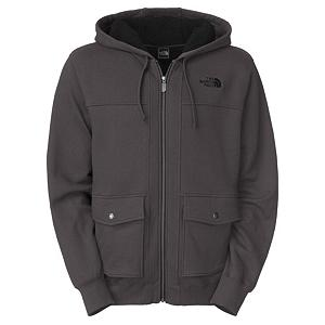 Snowboard The North Face Ghost Tree Hoodie - This full-zip North Face Ghost Tree Hoodie is comfortable, casual and best to wear on those days that require you to sit back, relax and enjoy. Insulated with super soft and fuzzy Sherpa Fleece even the cooler days will seem cozy. The North Face Ghost Tree Hoodie also works great as layering piece, either as the final layer or as a layer under your heavy winter coat on those super chilly days. It's the stylish way to look relaxed and the best way to fight the chill. . Hood Type: Fixed, Material: Cotton, Polyester Heathered CVC Fleece, Fleece Weight: Heavy, Category: Heavy-Weight, Hood: Yes, Warranty: Lifetime, Battery Heated: No, Type: Full Zip Top, Wind Protection: No, Type: Hoodies, Material: Cotton, Pockets: 1-2, Wicking Properties: No, Type: Long Sleeve, Water Resistant: No, Model Year: 2013, Product ID: 282034, Shipping Restriction: This item is not available for shipment outside of the United States. - $90.00