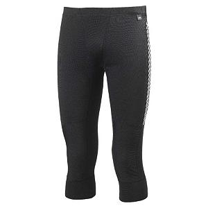 Snowboard Helly Hansen Dry 3/4 Mens Long Underwear Pants - Designed to give you great insulation and the best moisture management system in the world the Helly Hansen Dry 3/4 Pants are the original baselayer pants in the Helly Hansen line. Made with the Lifa Stay Dry Technology which will wick away moisture from your skin to keep you warm in cold weather. The flat lock stitching on the Helly Hansen Dry 3/4 pants allow these pants to move with you so you stay nice and comfortable. The lightweight fabric of these pants make them easy to layer under your other clothes so that you stay warm in cold weather. . Model Year: 2013, Product ID: 290491, Model Number: 48980-990-S, GTIN: 7040052283672, Type: Bottom, Weight: Light, Material: Synthetic, Warranty: Lifetime, Fit: Tight - $39.91