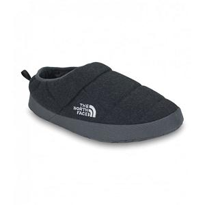 Camp and Hike The North Face NSE Tent Mule III SE Slippers - Give your feet the royal treatment when you slip on The North Face NSE Tent Mule Slippers. These down bootie mule slippers are perfect for packing into a ski bag or wearing while relaxing at home. Down delivers superb warmth and the durable, water-resistant P.E.T. ripstop upper will resist a little wear and tear. The bottom of these cozy slip-ons are made from a durable nylon mesh with low-profile rubber pattern to give you just enough traction inside and if you need to step out in the yard for a bit. Looking for the perfect winter gift for your man -you just found it. . Warranty: Lifetime, Waterproof: No, Material: P.E.T.Ripstop, Type: Slipper, Insulated: Yes, Sole Material: Rubber, Model Year: 2013, Product ID: 297258, Shipping Restriction: This item is not available for shipment outside of the United States. - $45.00