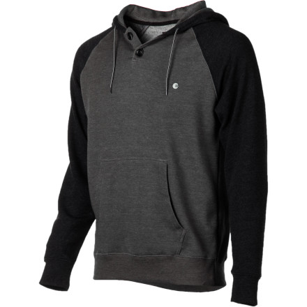 Surf Run up and down stairs, shadowbox, hit speedbags, and drink eggs with the Billabong Balance Pullover Hooded Sweatshirt. Do it. - $31.47