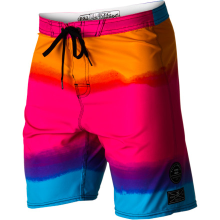 Surf Hook yourself with a dose of iconic awesomeness with the Billabong Iconic Board Short. An '80s theme and modern technology make this a truly unique short that also meets the approval the man-beast known as Occy. - $50.53