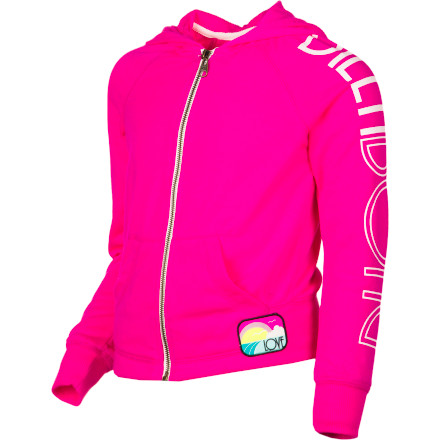Surf Billabong Stole My Heart Full-Zip Hoodie - Girls' - $25.17