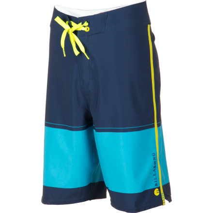 Surf Whether he's throwing airs out of overhead swells or just needs something in which to kick it by the pool, he's going to love the Billabong Invert Boys' Board Short. It has a flexible fabric that won't restrict his movement no matter if he's surfing or doggy-paddling, and it dries quickly to help him stay warm on the shore. - $46.71