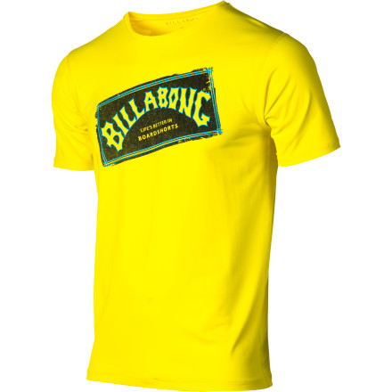 Surf Share in the legacy and wear the Billabong Iconic Rashguard. Or don't wear it and fall victim to rashing and a ferocious sunburn. Whatevs. - $28.95