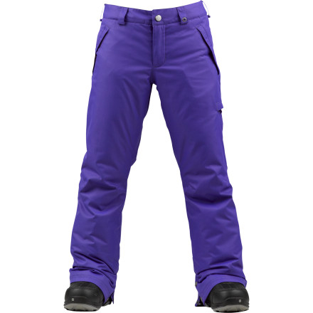 Snowboard The Burton Girls' Sweetart Pant knows that enjoying the season starts with proper equipmentand perhaps a few lessons if need be. DryRide Durashell 2-layer shell fabric fights against foul weather while the silky-smooth taffeta lining brings cuddle-worthy comfort into the picture. - $59.97