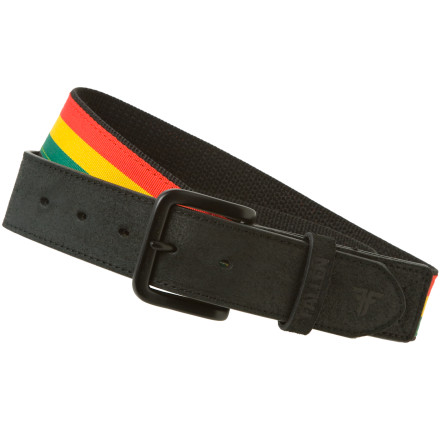Hold up your pants the way that Jah intended with the Fallen Rasta Belt. - $14.97