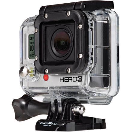 Extreme You've already sold your Hero2 in preparation; you've read all of the literature that you could get your hands on; you've waited patiently with bated breath, and now the next generation of GoPro is finally here. The GoPro Hero3 Black Edition - Adventure has arrived, and we assure you that it's worth the wait. Just looking at the external appearance of the GoPro Hero3 Black Edition, the difference in iterations couldn't be more night and day. The camera has been reduced in size by 30%, and the camera weight was reduced by 25%. In fact, the Hero3 tips the scales at an alarmingly low 2.6 ounces. The camera body has received a black backing treatment, and the front now boasts a more accessible and progressive user interface. And GoPro didn't simply stop redesigning at the camera body, the new external housing not only bolsters the durability of the body, but it's also fully-waterproof at depths up to 197' (60m). Now, let's get into the guts of the Hero3. The lens makes use of a new flat design with a waterproof housing. It's what GoPro calls a six-element aspherical lens. What does this mean Simply put, the lens has been designed to operate evenly across more light conditions than ever before. For the camera nerds; it's an f/2.8 -6.0 lens. So, you'll experience sharper image quality whether it's blisteringly bright or the sun has nearly disappeared. And in low-light conditions, specifically, you can expect twice the light performance in comparison to the Hero2. The new lens also allows Ultra-wide, Medium, and Narrow field of view modes, and you can operate the White Balance in either auto or manual modes (3000k, 5500k, 6500k, Cam Raw). Now, you can expect crystal clear resolution from sunrise to sunset. Possibly more important for your mounted shots, the lens has made huge gains in decreasing distortion, so you can say goodbye to frame-warble when the Earth is berating your rig. - $399.99