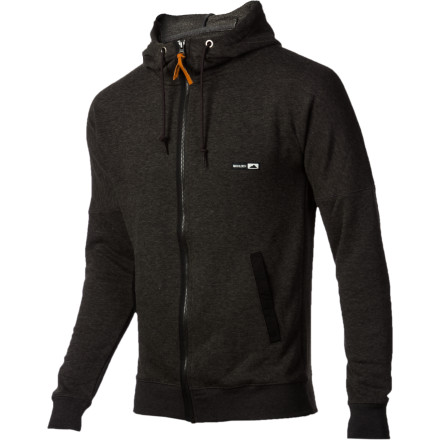 Layer the Holden Quick Dry Full-Zip Hoodie under your shred jacket for some warm, moisture-wicking insulation that won't compromise your ability to bust out the elusive seatbelt grab. - $95.96