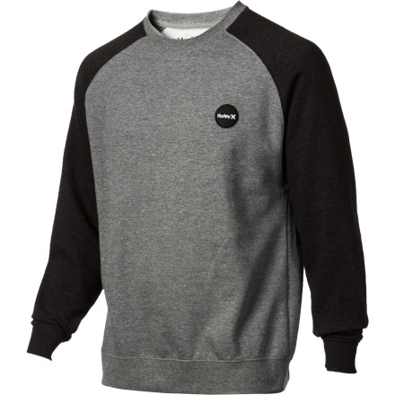 Surf Hurley Flammo Brand Crew Fleece Sweatshirt - Men's - $21.70
