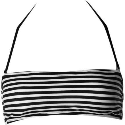 Surf Hurley Surfside Stripe Two-fer Bikini Top - Women's - $74.66