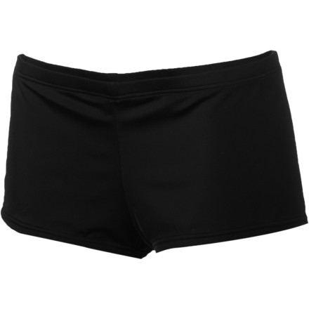 Surf Hurley One & Only Solids Boyshort Bikini Bottom - Women's - $33.26