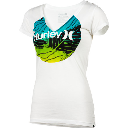 Surf Hurley Sig Zane Ululoa Perfect V T-Shirt - Short-Sleeve - Women's - $18.17