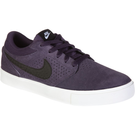 Skateboard The Nike Paul Rodriguez 5 LR Skate Shoe was tested, tweaked, and proven for supreme comfort and skate-specific durability by P-Rod so you could maybe one day hope to have a bag of tricks as hefty as his. - $62.36