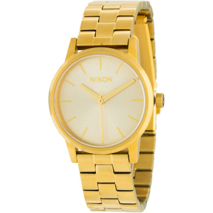 Entertainment Sometimes the little things make all the difference. The Nixon Small Kensington Women's Watch comes in a petite package that adds the perfect touch of class for any occasion. - $85.95
