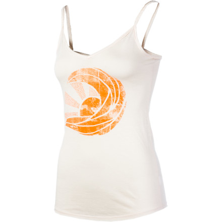 Surf Reach for the Roxy Women's Lazy Sun Tank Top, slip on your jean shorts, and head to the cafe for a fruit smoothie. - $15.75