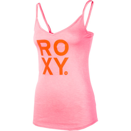 Surf After an intense workout at the gym, shower up, put on the Roxy Women's Proud Tank Top, and meet your gals for a scrumptious meal. - $15.75
