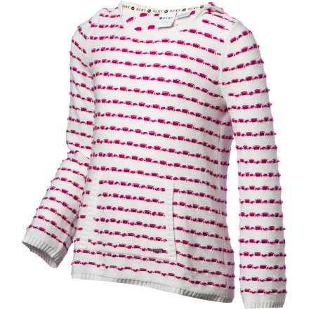Surf Roxy Puddles Sweatshirt - Girls' - $35.43