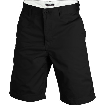Skateboard Put on the RVCA Americana II Short before you roll through the hood for cheap tacos and cop-free skate spots. After you stuff yourself with enough beef and beans to fuel a fart-powered rocketship, you'll have the energy you need to hit up that new bank-to-ledge. - $39.95
