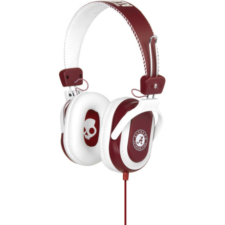 Entertainment Show love for your alma mater with the Skullcandy Agent College Collection Headphones. Featuring your favorite team's colors and logo emblazoned across it, the Agent provides rich, full sound so you can get pumped up off your team's fight song before kickoff. - $21.98