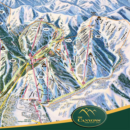 Ski The Canyons Ski Resort, located outside Park City, UT, offers 3700-acres of skiable terrain ranging from beginner groomers to big bowls to an award-winning terrain park to stomach-churning steeps. With 17 lifts, 146 runs, 3100-plus feet of vertical, eight mountain peaks, and an annual snowfall of 355 inches, you'll be sure to find more skiing and snowboarding fun than you ever thought possible at one resort. Save time and money by purchasing your discounted lift tickets to The Canyons online through Backcountry.com. We'll mail them right to your house, and they're valid any day through the 2012/2013 season. When you're ready to shred, grab your tickets and head straight for the liftsno waiting in line with a voucher. - $154.00