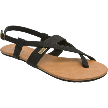 Entertainment Get your feet out of those stifling socks and into the Volcom Happy Summer Creedler Sandals. Soft PU straps comfortably wrap your hooves, and EVA insoles create light cushioning for kickin' around town. - $20.27
