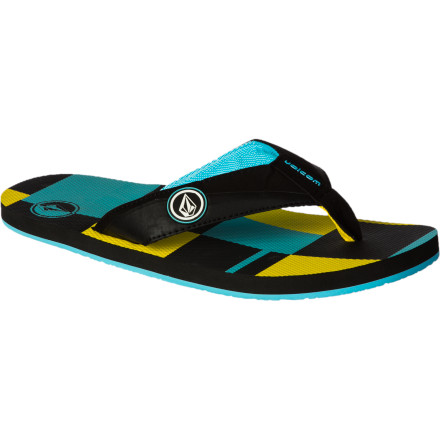 Surf The pay as a lifeguard may not be that great, but at least you get to wear the Volcom Vocation Creedler Men's Flip Flop to work. The EVA footbed and sole is lightweight and soft so you stay comfortable during a long day of sitting in your lifeguard chair and staring at hot moms. - $18.36