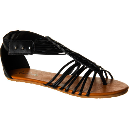 Entertainment Like your mother always said: if you can't say something nice (while wearing Volcom Be Nice Sandals) then don't say anything at all. One glance down at your feet in Be Nice Sandals will send happy thoughts and positivity racing up from your feet to your brain. (It's possible.) - $31.96