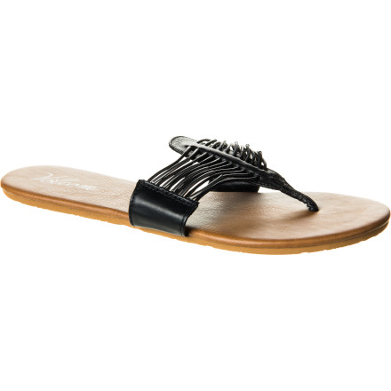 Entertainment When the occasion calls for a bit more than your worn-out old flip flops, slip on the Volcom Required Creedler Women's Sandal to add a touch more class to your look. - $23.96