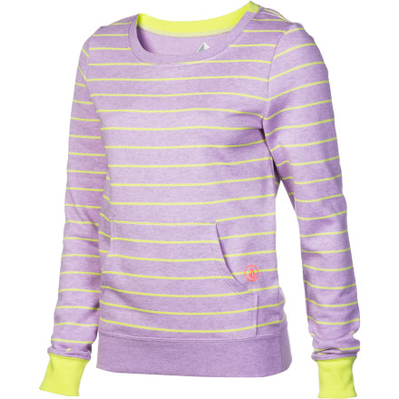 Surf Volcom Stoned Like A Crew Sweatshirt - Women's - $27.62