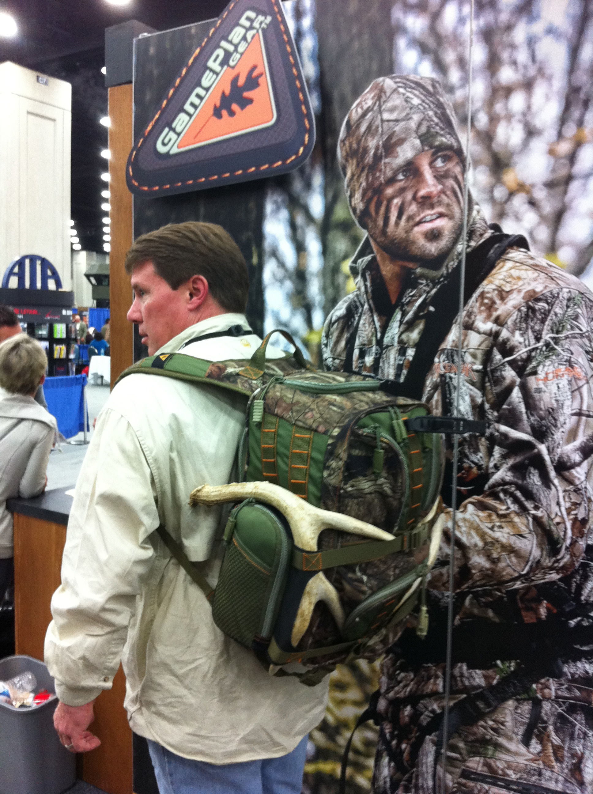 Hunting Check out this new GamePlan Gear pack with perfect straps for securing sheds and rattling antlers!